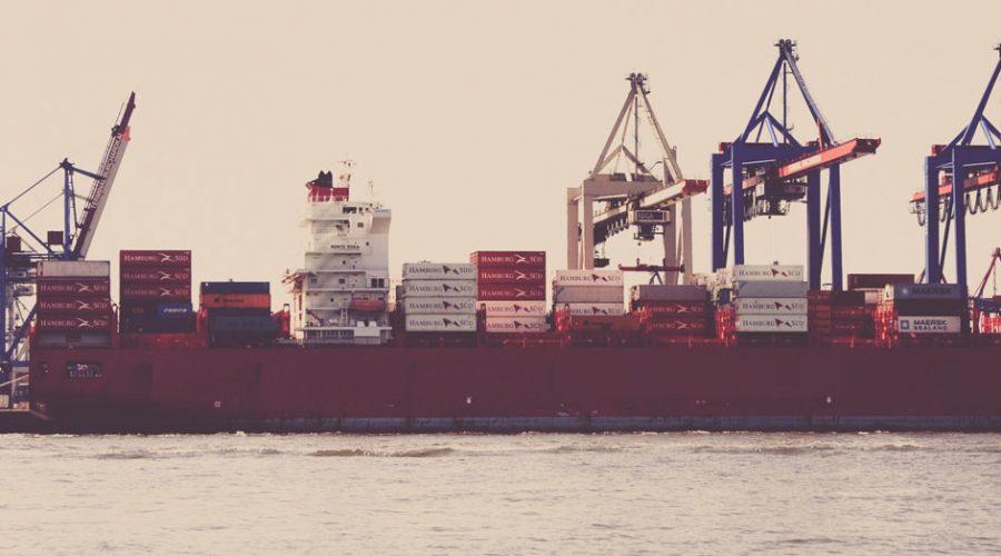 vrachtschip afbeelding